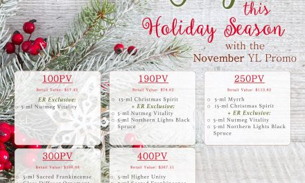 Get Grateful this Season with November's PV Promo!